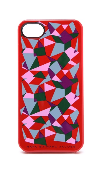 Marc by Marc Jacobs Taboo Print iPhone Case