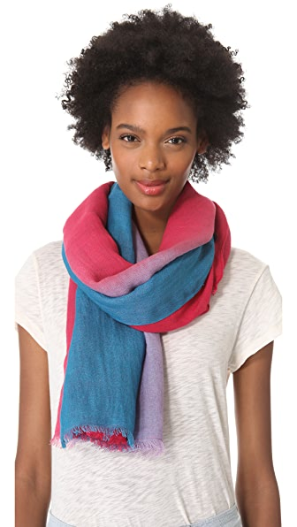 Marc by Marc Jacobs Woven Dip Dye Scarf