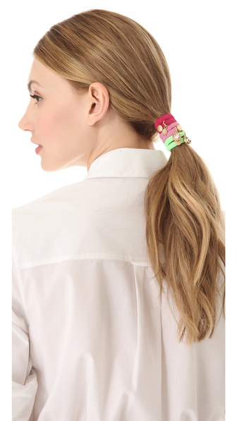 Marc by Marc Jacobs Paste Cluster Ponys Hair Tie Set