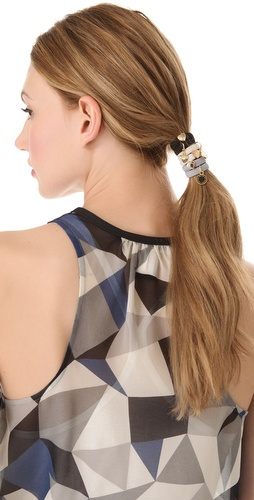 Shop Marc by Marc Jacobs Classic Marc Cluster Ponys Hair Tie Set and Marc by Marc Jacobs online - Accessories,Womens,Fashion_Accessories,Hair_Accessories, online Store
