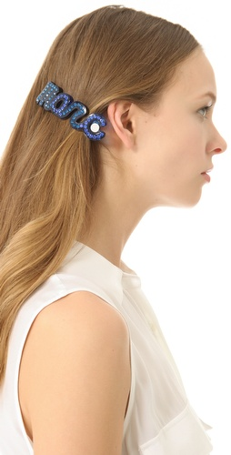 Shop Marc by Marc Jacobs Confetti Marc Script Barrette and Marc by Marc Jacobs online - Accessories,Womens,Fashion_Accessories,Hair_Accessories, online Store