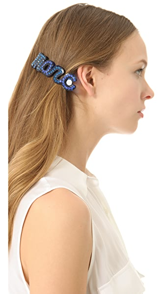 Marc by Marc Jacobs Confetti Marc Script Barrette