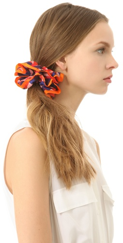 Shop Marc by Marc Jacobs Patch Chou Chou Scrunchie and Marc by Marc Jacobs online - Accessories,Womens,Fashion_Accessories,Hair_Accessories, online Store