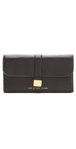 Marc by Marc Jacobs Natural Selection New Long Trifold Wallet at Shopbop.com