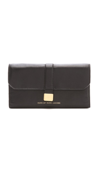 Marc by Marc Jacobs Natural Selection New Long Trifold Wallet