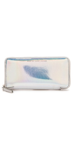 Marc by Marc Jacobs Techno Slim Zippy Wallet at Shopbop.com