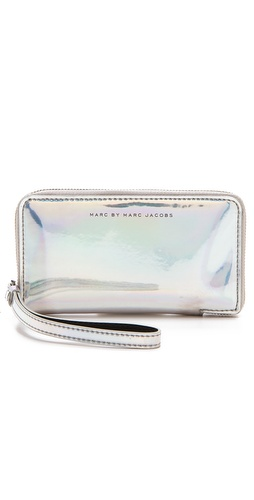Marc by Marc Jacobs Techno Wingman Wristlet at Shopbop.com