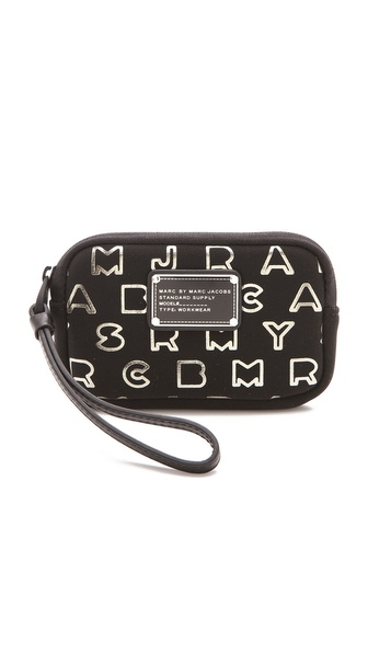 Marc by Marc Jacobs Dreamy Logo Neoprene Metallic Universal Case