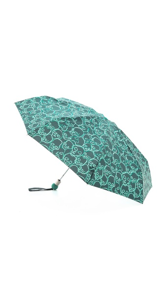 Marc by Marc Jacobs Neon Skulls Umbrella