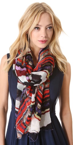 Marc by Marc Jacobs Flag Stripe Scarf