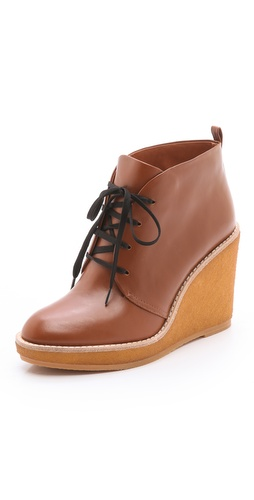 Marc by Marc Jacobs Wedge Lace Up Booties at Shopbop / East Dane