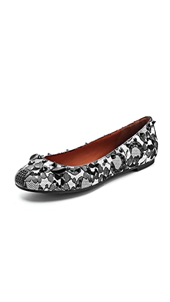 Marc by Marc Jacobs Studded Lace Mouse Flats
