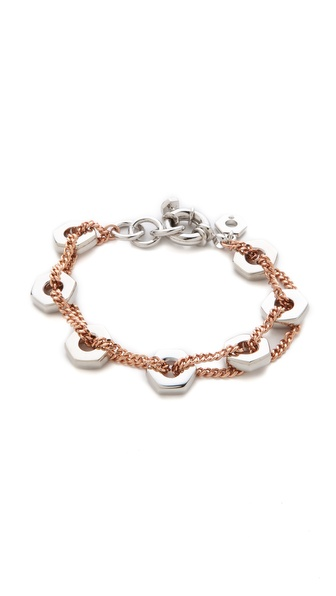 Marc by Marc Jacobs Bolt Link Bracelet