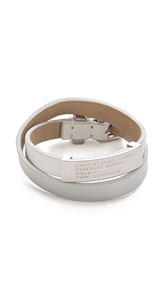Marc by Marc Jacobs Standard Supply Double Wrap Bracelet