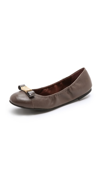 Marc by Marc Jacobs Logo Plaque Elastic Flats