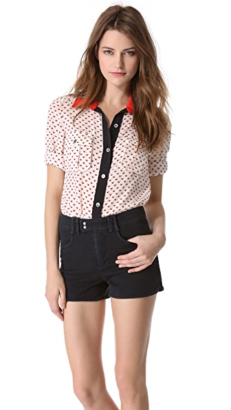 Marc by Marc Jacobs Vivie Print Shirt