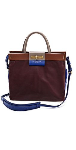 Marc by Marc Jacobs East End Colorblock Madame Hilli Bag at Shopbop / East Dane
