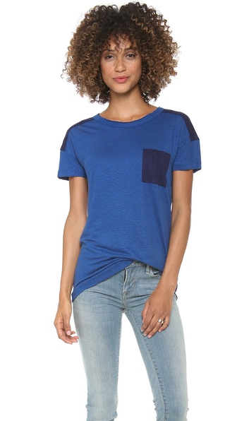 Marc by Marc Jacobs Kip Linen Jersey Tee