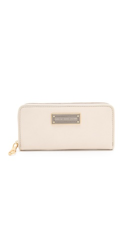 Marc by Marc Jacobs Too Hot To Handle Colorblock Slim Zip Around Wallet at Shopbop / East Dane