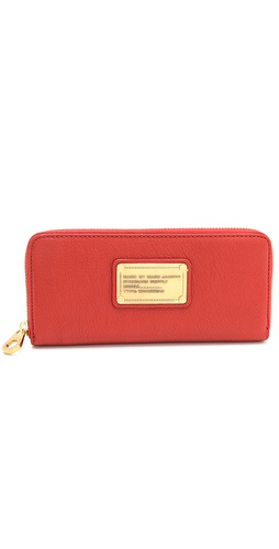 Marc by Marc Jacobs Classic Q Slim Zip Around Wallet at Shopbop / East Dane