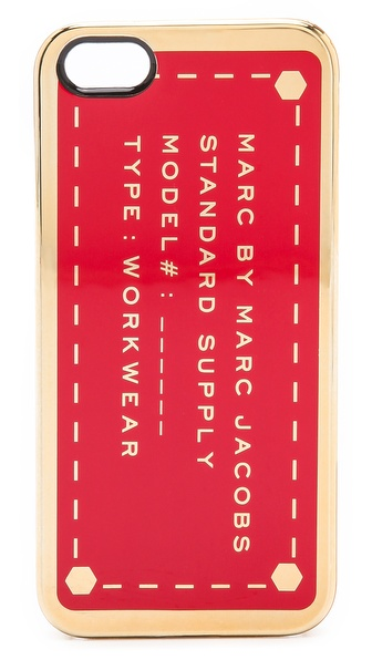 Marc by Marc Jacobs Metallic Standard Supply iPhone 5 / 5S Case