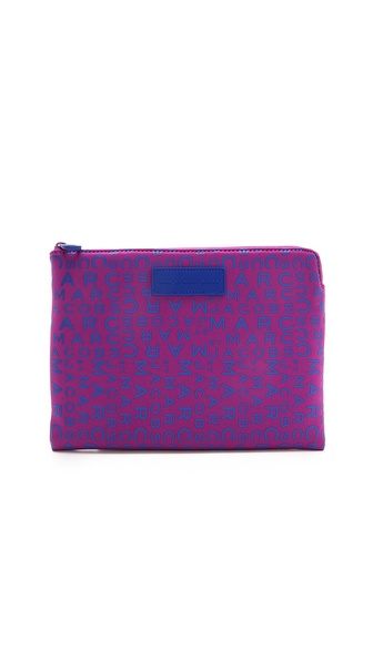 Marc by Marc Jacobs MBMJ New Jumble Logo Neoprene Tablet Zip Case