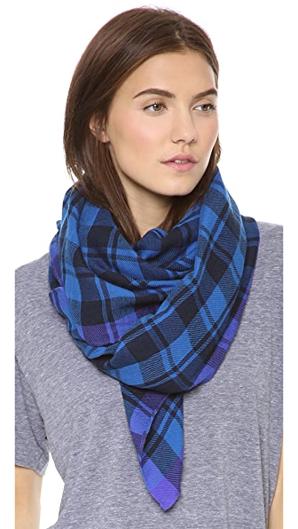 Marc by Marc Jacobs Scarlette Check Scarf