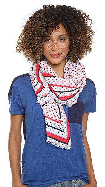 Marc by Marc Jacobs Vivie Print Scarf