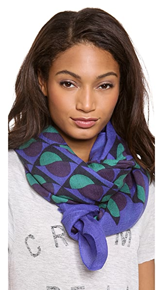 Marc by Marc Jacobs Etta Deco Cashmere Scarf