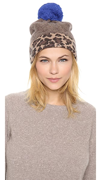 Marc by Marc Jacobs Lenora Leopard Hat