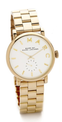 Marc by Marc Jacobs Baker Watch at Shopbop / East Dane