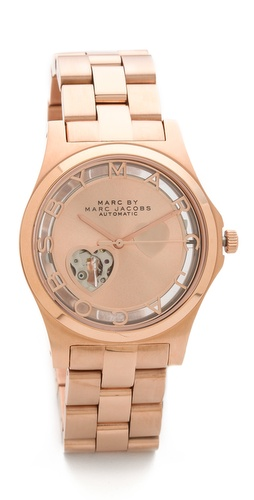 Marc by Marc Jacobs Icon Cutout Automatic Watch at Shopbop / East Dane