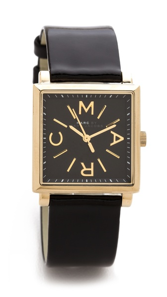 Marc by Marc Jacobs Leather Truman Watch