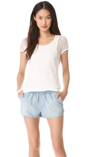 Marc by Marc Jacobs Textured Linen Top
