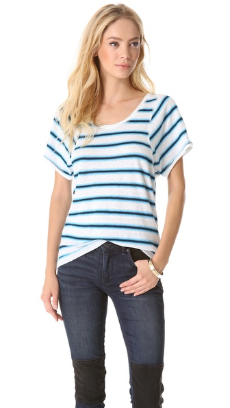 Marc by Marc Jacobs Light Stripe Tee