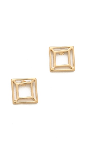 Marc by Marc Jacobs Gem Slice Stud Earrings