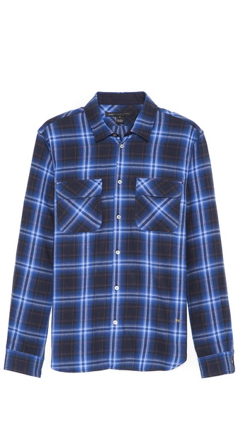 Marc by Marc Jacobs Burlington Large Plaid Sport Shirt