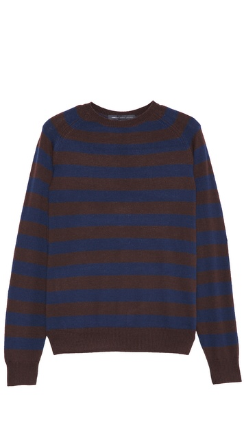 Marc by Marc Jacobs Yukon Stripe Crew Neck Sweater