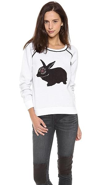 Marc by Marc Jacobs Rabbit Intarsia Sweatshirt