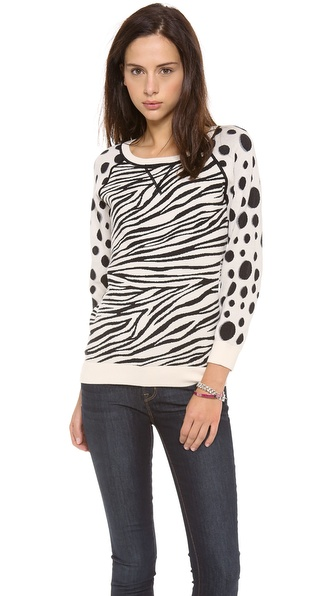 Marc by Marc Jacobs Shebra Intarsia Sweatshirt