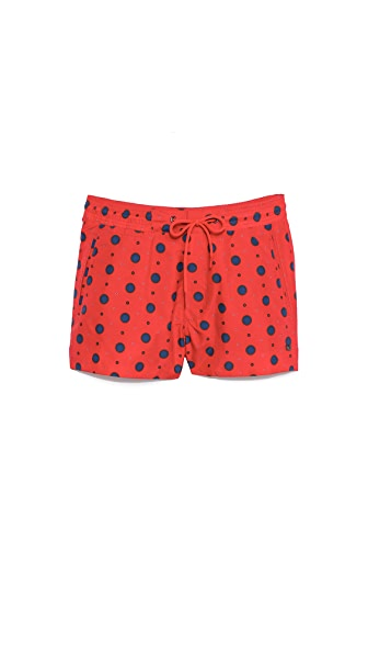 Marc by Marc Jacobs Dalton Dot Swim Trunk