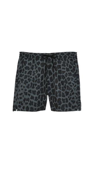 Marc by Marc Jacobs London Leopard Swim Trunks