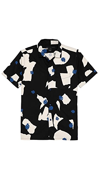 Marc by Marc Jacobs Large Ladybug Print Sport Shirt