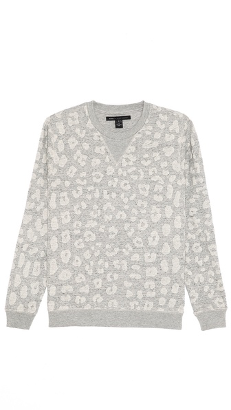 Marc by Marc Jacobs London Leopard Sweatshirt