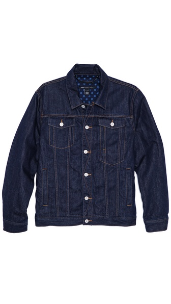 Marc by Marc Jacobs Lined Denim Jacket