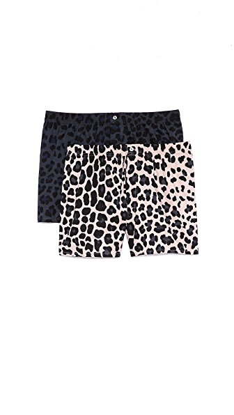 Marc by Marc Jacobs 2 Pack London Leopard Boxers