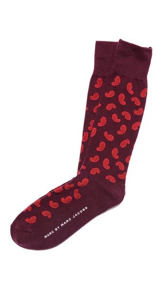 Marc by Marc Jacobs Paisley Socks