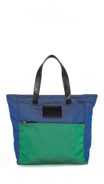Marc by Marc Jacobs Nylon Tote with Leather Trim