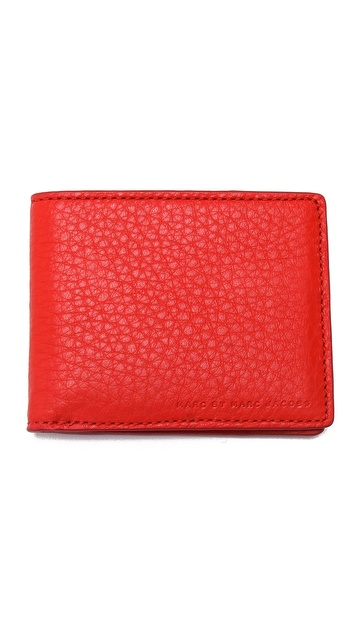 Marc by Marc Jacobs Leather Martin Wallet