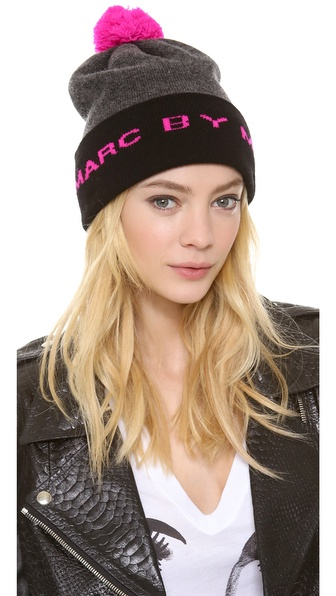 Marc by Marc Jacobs Logo Ski Hat